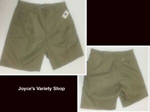Russell Athletic Women's Shorts Beige Khaki NWT Size 10