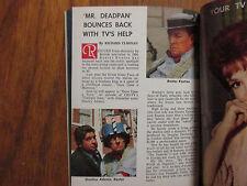 Nov-1961 Detroit News TV Mag(BUSTER KEATON/JANE BURGESS/JACK BENNY/CARA WILLIAMS