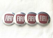 Fiat Wheel Centre curve Decal Emblem Badge Hub Caps Sticker Logo 56mm Set of 4.