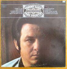 """Tommy Cash """"Cash Country"""" 1971 LP Vinyl Epic Records  E 30556"""