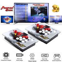3400 IN 1 Pandora-S Spiele Classical Split Video Konsole Doppel Stick Für PC,