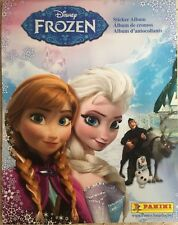Panini Disney Frozen Sticker Album &10 Stickers
