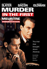 Murder in the First [Canadian] New DVD - Region 1- Kevin Bacon, Christian Slater