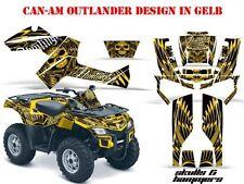 AMR RACING DEKOR GRAPHIC KIT ATV CAN-AM OUTLANDER STD & MAX SKULLS N HAMMERS B