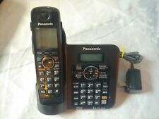 PANASONIC KX-TG6641 DECT 6.0  CORDLESS BASE and  PHONE KX-TGA660