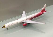 JC Wings 1/400 Rossiya Airlines Boeing 777-300 EI-UNP Leopard metal model