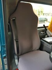 Custom Made Waterproof Canvas Seat Cover for ISRI Truck Seat. For Driver's Seat