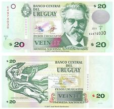 Uruguay 20 Pesos 2011 Series F P-86b Banknotes UNC