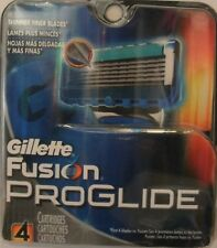 Gillette Fusion Proglide Men's Razor Blade Refills 4 Count 5 Blade Shaving