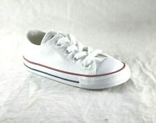 TODDLER CONVERSE 7J256 OPTICAL WHITE LOW TOP  CANVAS CASUAL BABY SHOE