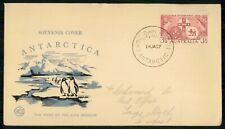 Australia FDC 1957 Antarctica Davis Cancel WCS First Day Cover wwi4275
