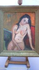 Peinture femme nue . Painting nude woman