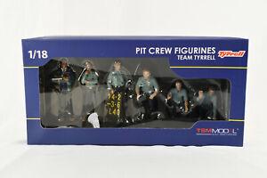 TSM Model 1/18 Pit Crew Figurines Team Tyrrell 1976 NIB