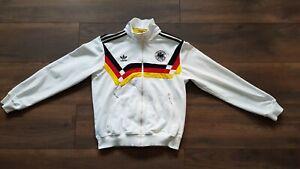 Adidas DFB Trainingsjacke WM 1990 Deutschland EM L Jacke Retro Präsentationsjack
