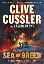 Sea of Greed  by Graham Brown; Clive Cussler Hardcover book FREE SHIPPING