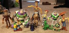 Lot of Disney Toy Story Characters Buzz Woody Jessie Buckeye & More