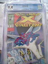 X-Factor 24 CGC 9.4, 1st Archangel,  (Marvel 1988) NM