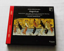 HERREWEGHE / BACH Magnificat GERMANY CD + Catalogue 1997 - HMX 2901326 (1997)