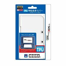 HORI TPU Duraflexi Yawa Kata Cover Clear for New Nintendo 3DS LL XL