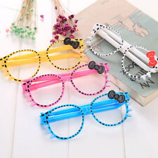 8Pcs Fashion Cute Cat Glasses Shape Ball Pen Office School Supply Stationery New