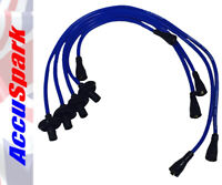 AccuSpark 8mm Blue Silicon High Performance HT Lead Set For Air Cooled VW Beetle