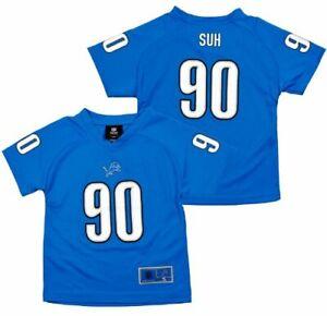 NFL Youth Detroit Lions Ndamukong Suh #90 Performance Fashion Jersey
