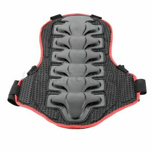Motorcycle Motocross Outdoor Sports Back Armor Protector Body Protection Black