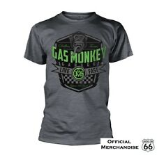 Official Gas Monkey Garage 'Live Fast' T-Shirt -Fast 'n' Loud, Hot Rod, Route 66