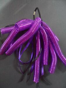 purple cyberlox cyberlocks 90's hair fall scrunchie