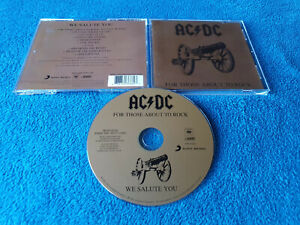 AC/DC - For Those About To Rock - CD (Sony Columbia 2014)
