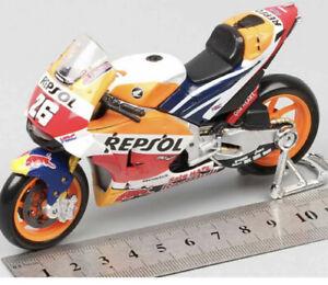 1/18 Repsol Honda Rc213v Hrc #26 Dani Pedrosa 2014  Motor Bike Gp Model Toy