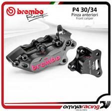 Brembo kit etrier axial CNC P4 30/34 emp 40mm SX+past Kawasaki Ninja 250