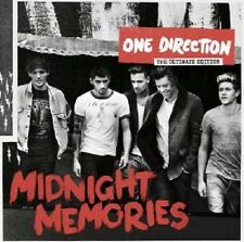 ONE DIRECTION - MIDNIGHT MEMORIES (GERMAN DELUXE EDITION) CD 18 TRACKS POP NEW+