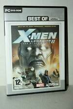X-MEN LEGENDS II L'ERA DI APOCALISSE USATO PC DVD VERSIONE ITALIANA ML3 48865