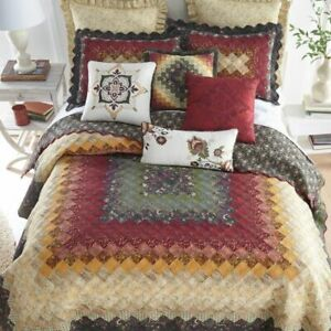 DONNA SHARP SPICE TRIP PATCHWORK TRADITIONAL RUSTIC QUILT COLLECTION