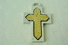 Bronze Gothic Style Cross Pendant Rare Kerry Mcbride Sterling And
