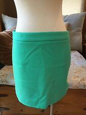 GAP Aqua Sea Green Mint Mini Pencil Skirt 6 Excellent