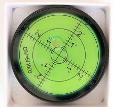 Livella a bolla grande metallo misurazione angoli, alloggiamento in metallo,60mm