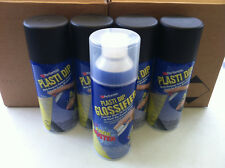 Matte BLACK*4 + GLOSSIFIER (UV Protect)*1 - Performix PLASTI DIP Spray Cans 311g