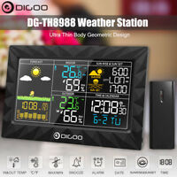 DIGOO LCD Color Weather Station Barometer Humidity Hygrometer + Remote Sensor