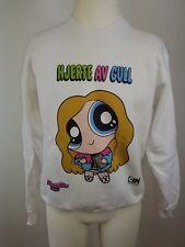 Neuer Powerpuff Girls Cartoon Network Damen Sweatshirt Sweater Pullover Gr S-M