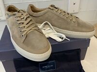 New Peter Millar Collection Lace Up Sneakers Stone MS19RF02 Mens Size 10.5 $298