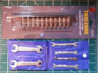 🌎 STUART MODELS & OTHER MODEL LIVE STEAM ENGINE BA SPANNER & SOCKET SETS, NEW