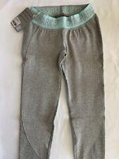 NWT Gymshark Flex Leggings Light Grey Marl/Pastel Turquoise XS