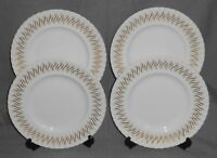 Set (4) Royal Worcester RHYTHM PATTERN Luncheon Plates MADE IN ENGLAND