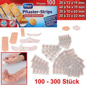 Pflaster Strips Wundpflaster Fingerpflaster wasserabweisend Wundverband Set