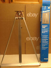 """Testrite Stanrite Lightweight Aluminum Table Easel No.160 Signs Up to 21"""" High!"""