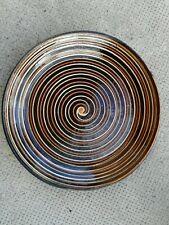 ancien plat Savoie art populaire savoyard marnaz ? Assiette terre cuite poterie