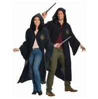 Hogwarts Robe with Crest Hooded Costume Harry Potter Adult Size Small 34-36