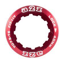 Aleación Casete Anillo de bloqueo para Shimano/SRAM 326 Rojo piñones bicicleta